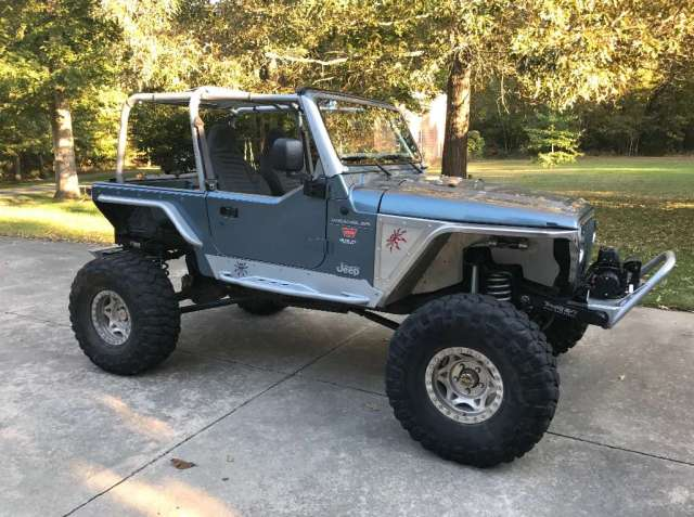 98 Jeep TJ Wrangler Stretched
