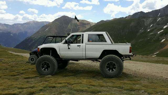 Of A Kind Toyota Truckrunner DD Tons V - 4runner truck